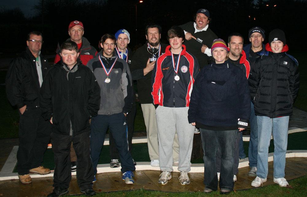 The Kent Minigolf Club - Club CHampions 2012