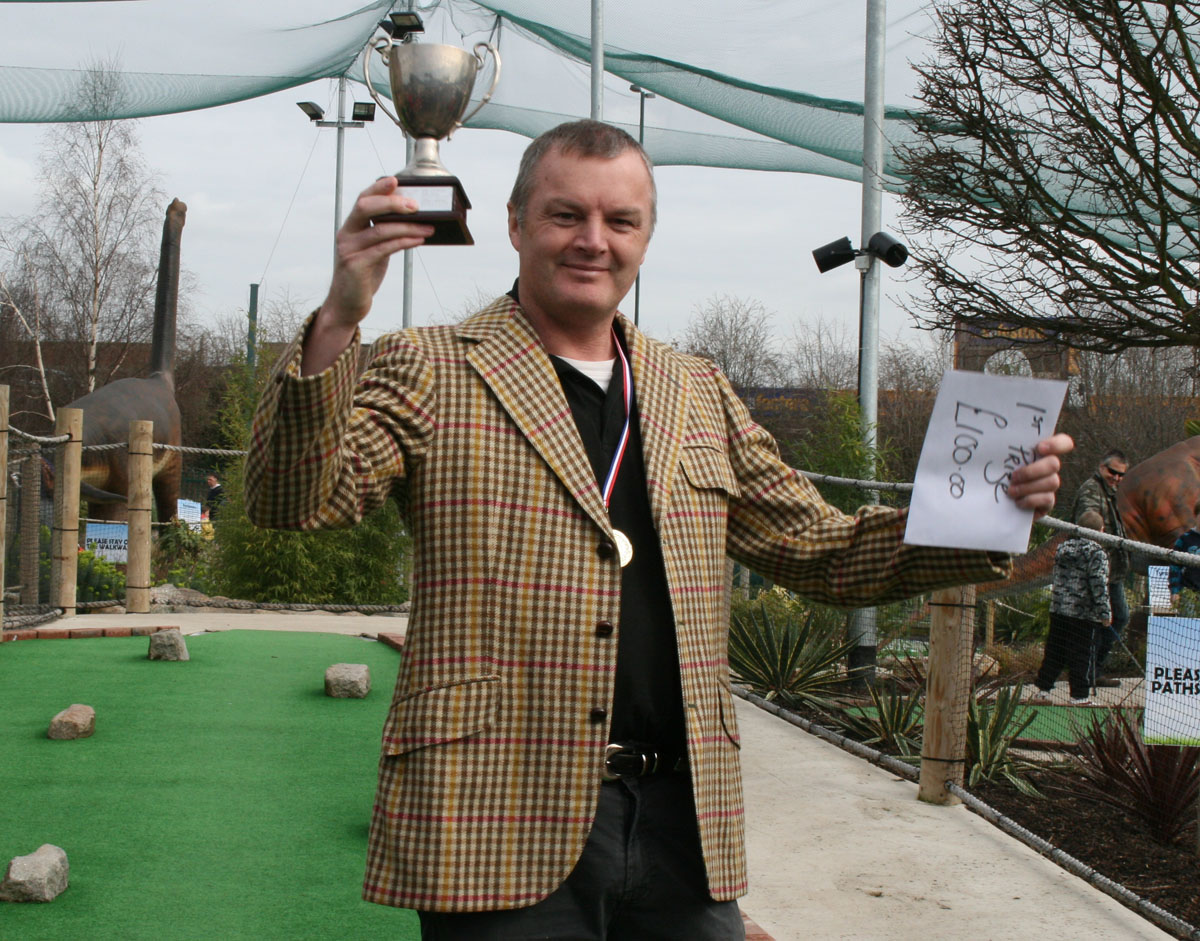 Andy Exall Masters champion 2010