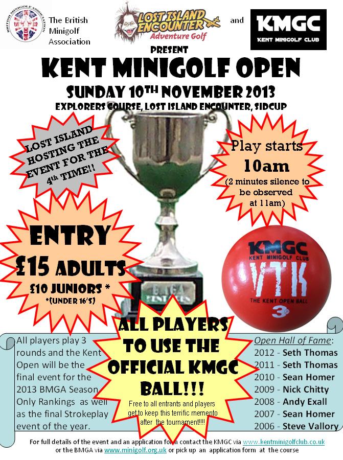 Kent Open poster