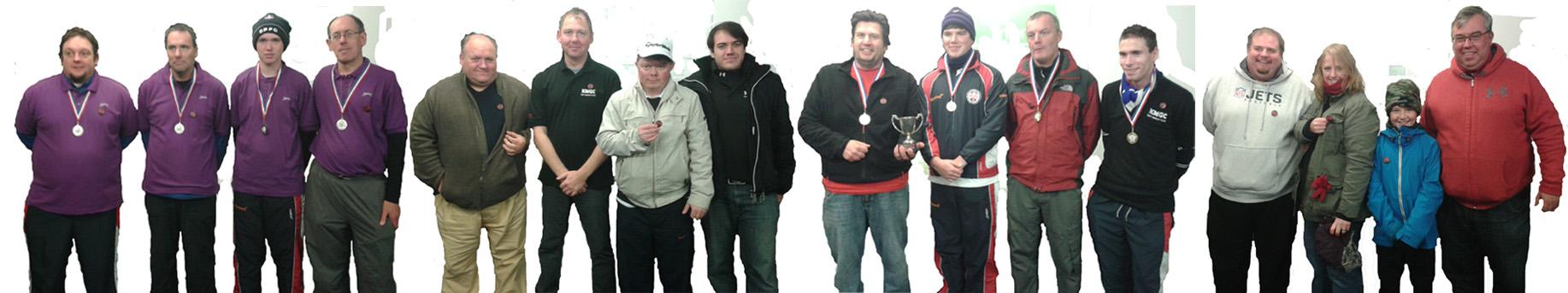 Kent Minigolf Club squad 2013